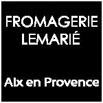 Logo Fromagerie Lemarié blanc